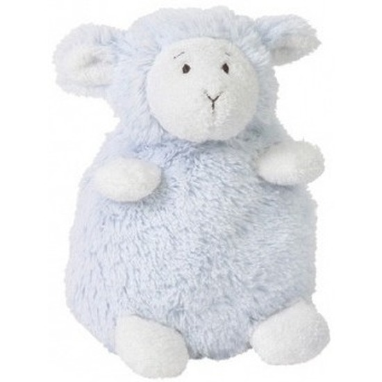 ea42a940df23cd Kraamcadeau blauw lammy schaap/lam knuffel zittend 26 cm jongen geboren