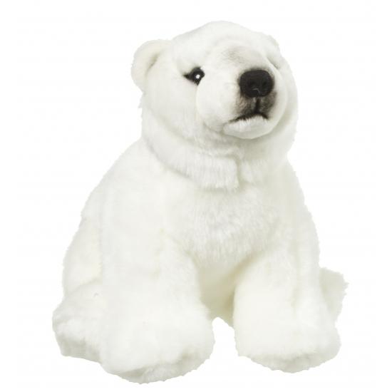 baff32b0b82d48 Pluche knuffel ijsbeer 22 cm sloffen/ pantoffel winkel