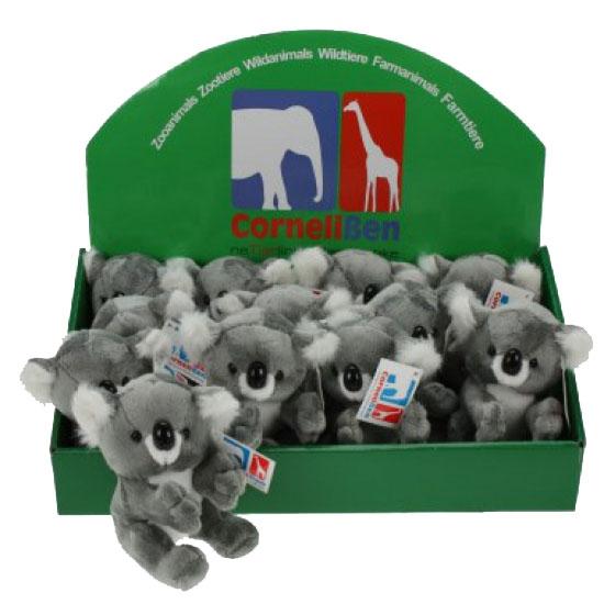 e9d6c0de534711 Speelgoed knuffel koala 14 cm sloffen/ pantoffel winkel