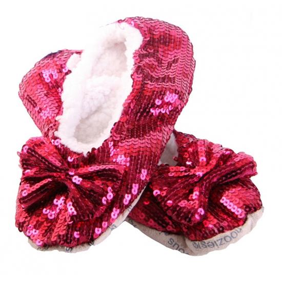 Glitter Pantoufles Rouges lxWf7kJ34n