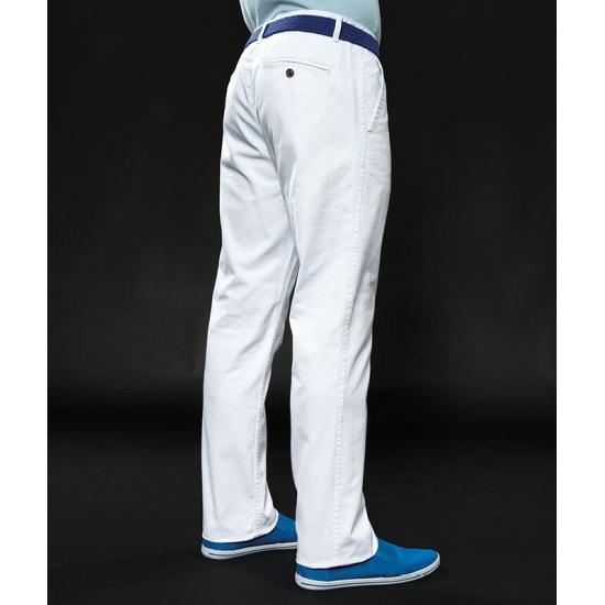 witte heren broek van katoen sloffen/ pantoffel winkel